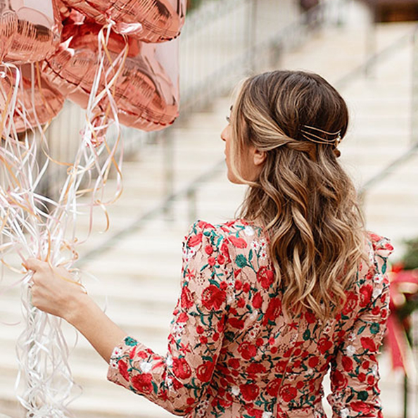 Blog #T3Inspo: Sparkly New Year's Eve Hair