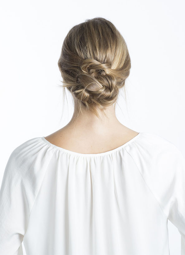 Day 3 - Knotted Up-Do | Final Look